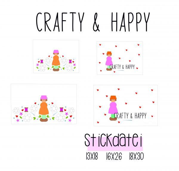 Etuis crafty and happy - 13x18, 16x26 und 18x30