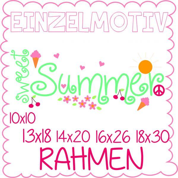 Sweet Summer ( Alle Rahmengrößen )