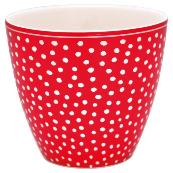 Latte cup Dot Red von GreenGate