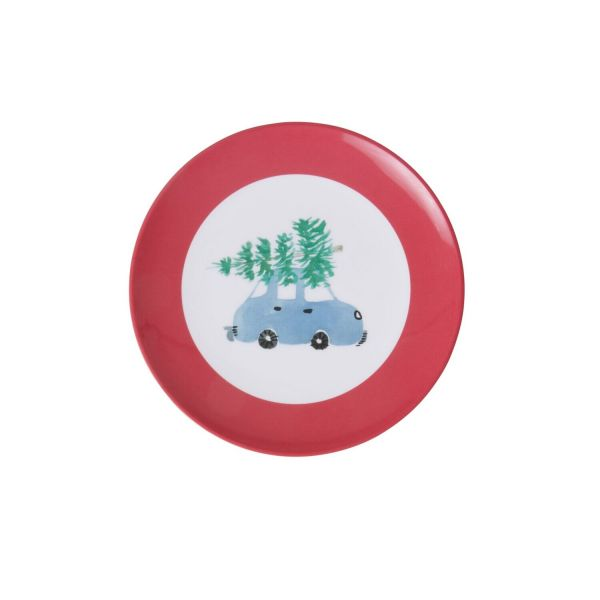 Mini plate Melamin Tanne-Auto