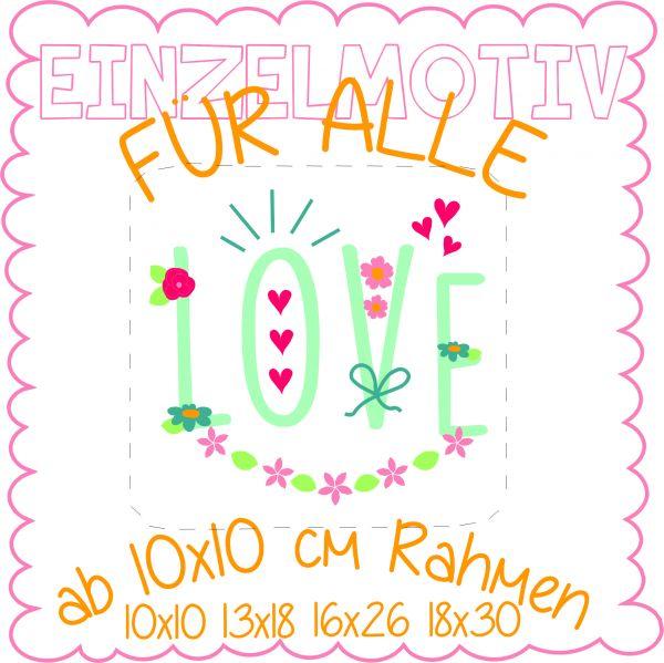 LOVE FÜR ALLE ( Alle Rahmengrößen )