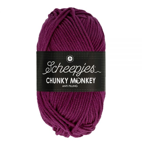 CHUNKEY MONKEY col.1061 - Cerise