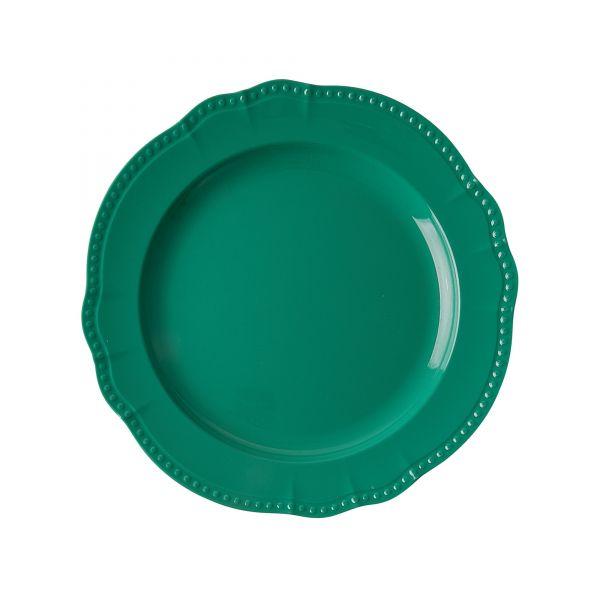 Melamin Servierteller Dark Green von Rice