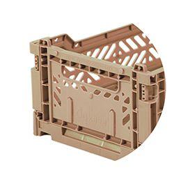 Ay-Kasa - Klappbox Mini in warm taupe