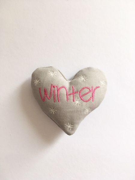 Deko-winter Herz
