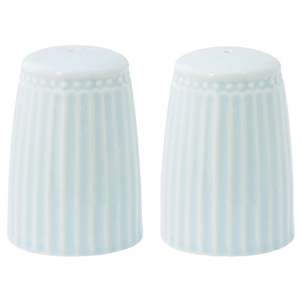 Salt&peber set Alice pale blue von GreenGate