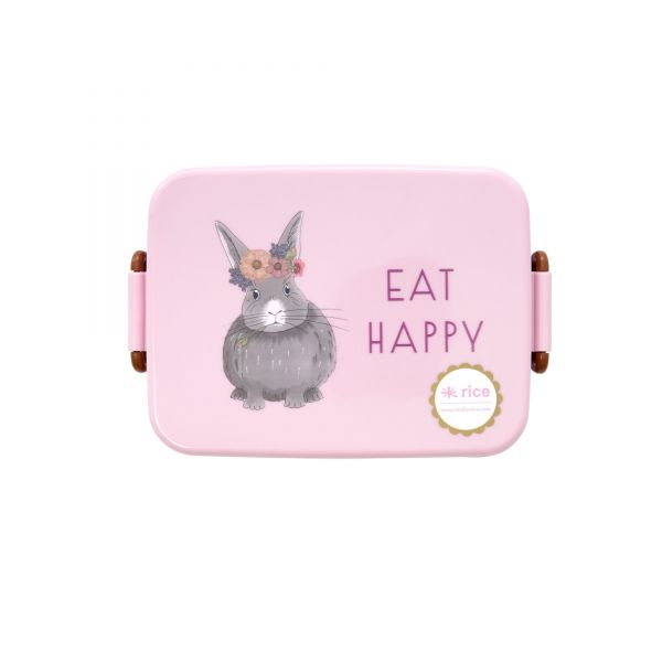 Melamin Kids Lunch Box Farm Animals Print