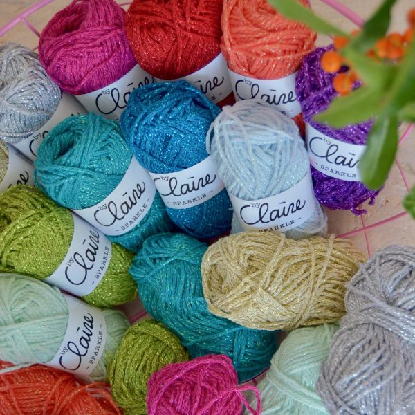 by Claire Sparkle - Box 12 Farben jeweils 25 Gramm