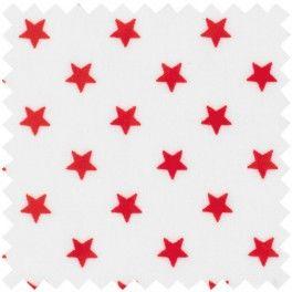 """Wachstuch """"Star white"""" von GreenGate"""