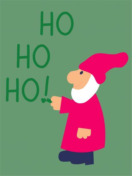 Postkarte - Ho Ho Ho