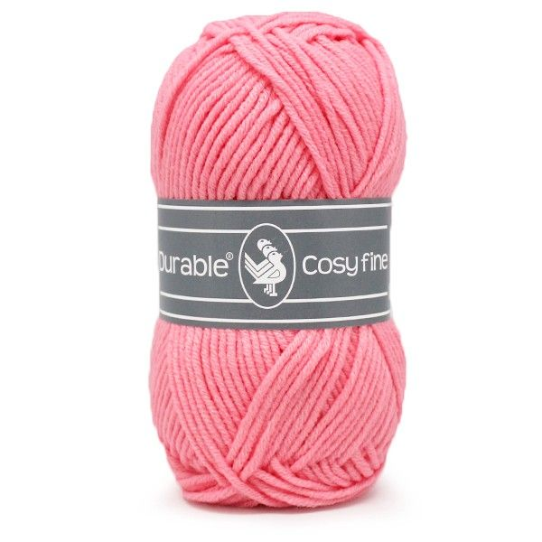 Durable Cosyfine col.229 / Flamingo Pink