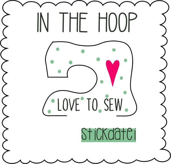 IN THE HOOP - Love to sew