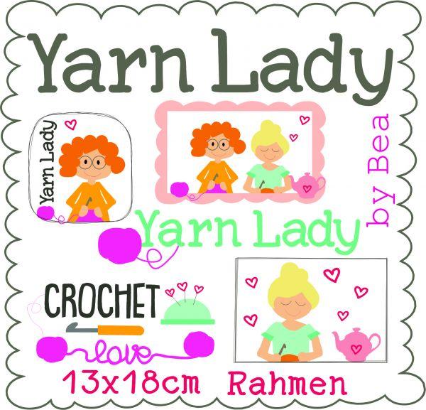 Yarn Lady 13x18