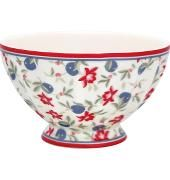 French Bowl Smal Helena White von GreenGate