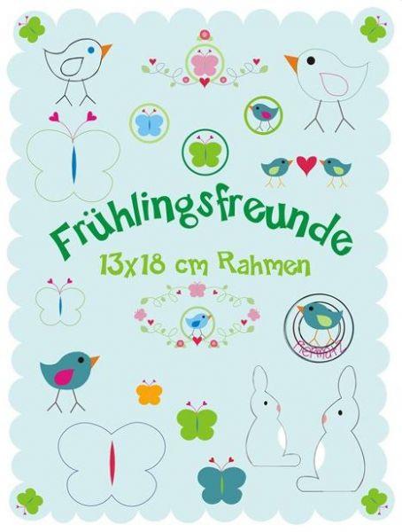 Frühlings Freunde 13x18