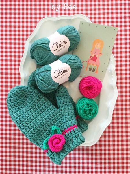 Materialset - Mini Maschenpäckchen für Handschuhe
