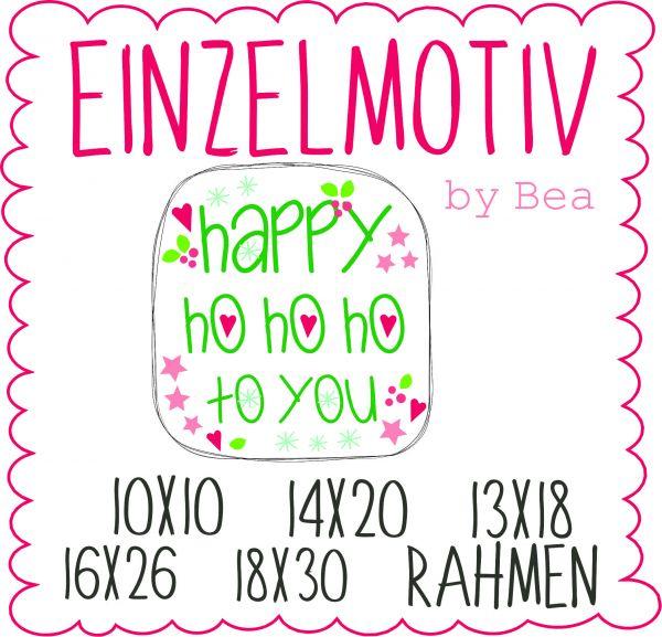 Happy hohoho to you ( Alle Rahmengrößen )