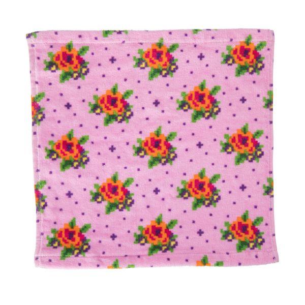 Pink Washcoth von Rice
