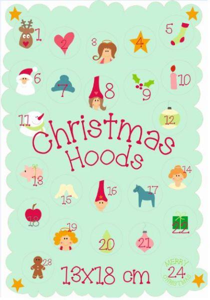 Christmas Hoods 13x18