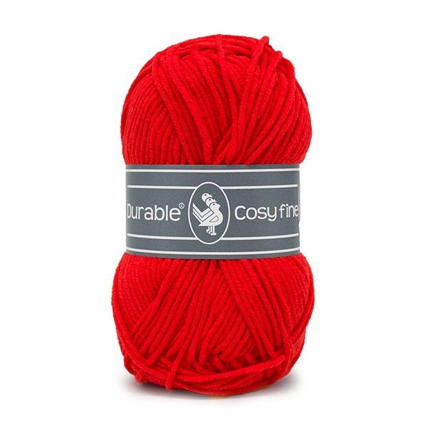 Durable Cosyfine col.317/ Deep red