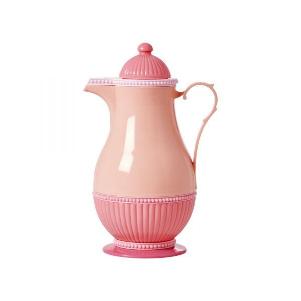 Thermoskanne in Pink / Orange von Rice