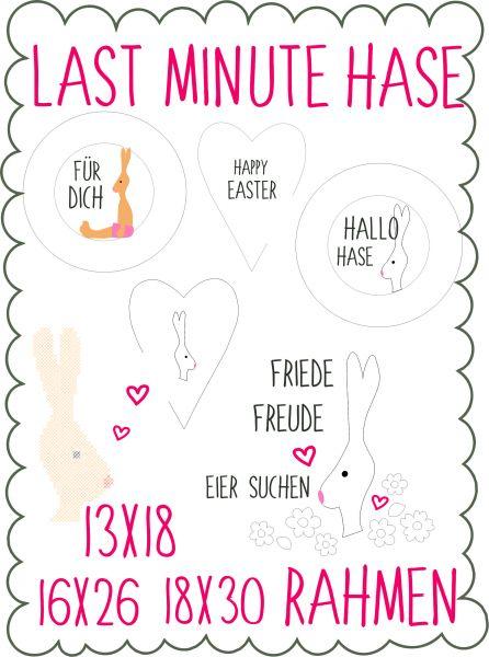 Last Minute - Hase