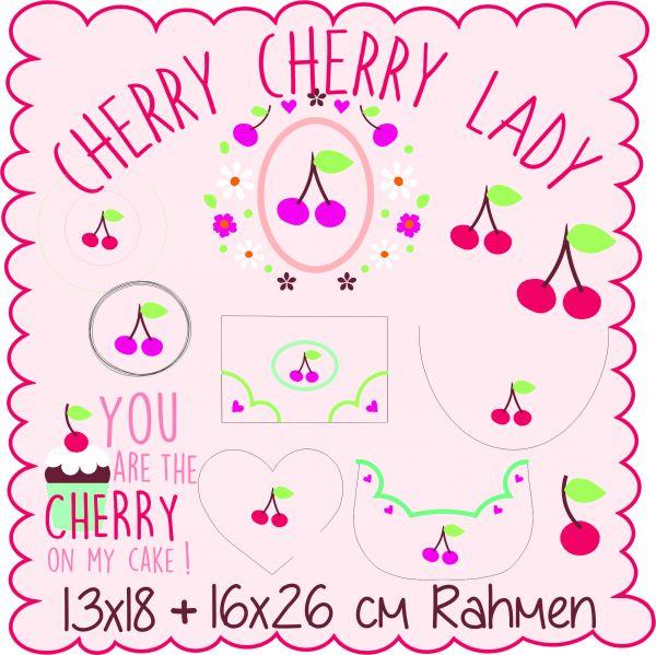 Cherry, Cherry Lady 13x18 und 16x26cm