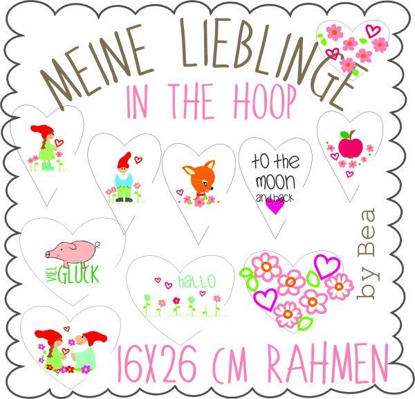 Meine Lieblinge ( In the Hoop )