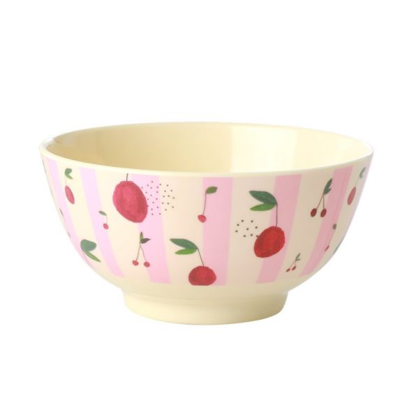 Melamin Bouwl cherry print von Rice