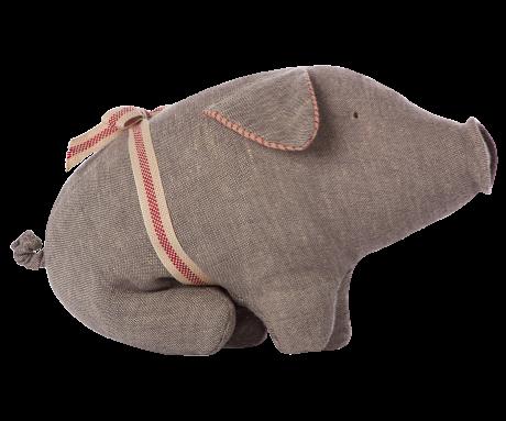 Schwein in grau von Maileg klein