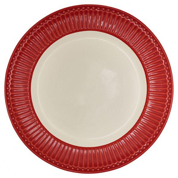 Dinner Plate Alice red von GreenGate