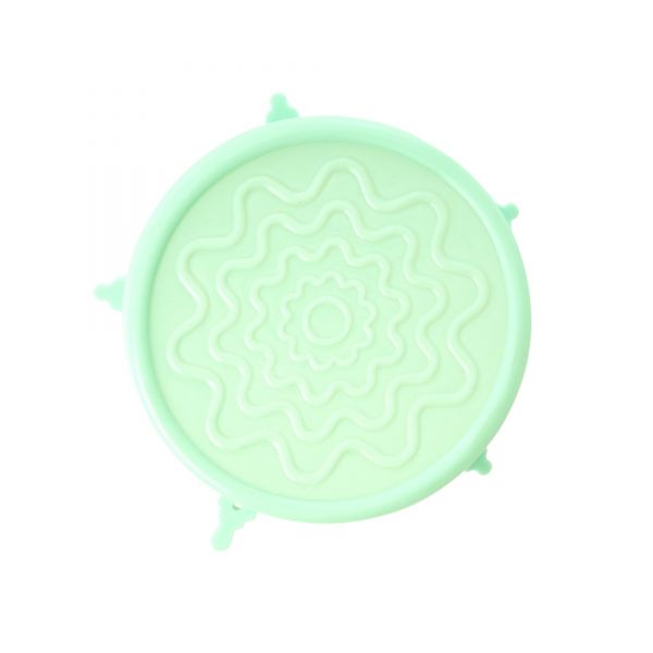 Silicone Lid for Medium Melamine Bowl - Pastell Green