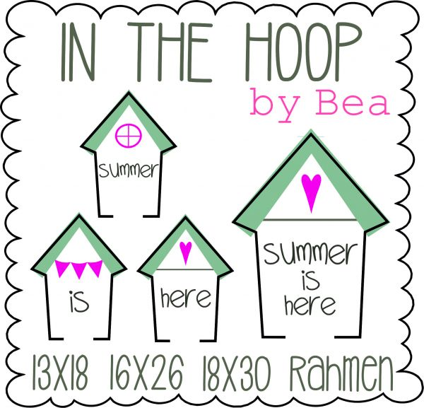 IN THE HOOP - summer is here