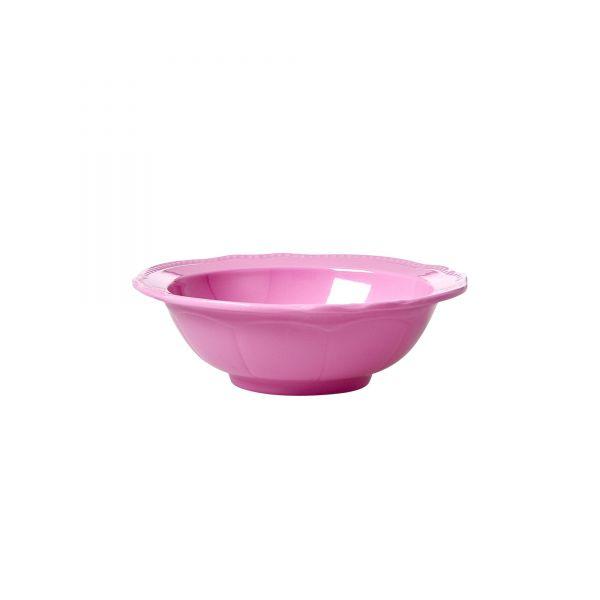 Melamin Schüssel klein Dark Pink von Rice