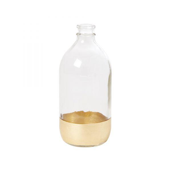 Vase mit Goldrand von Rice