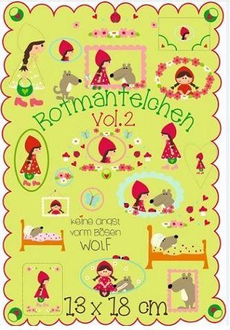 Rotmäntelchen Vol.2 13x18