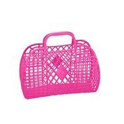 Sun Jellies - Hot Pink Retro Basket / L