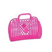 Sun Jellies - Hot Pink Retro Basket / L