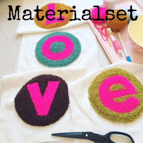 Materialset - Punchen - LOVE