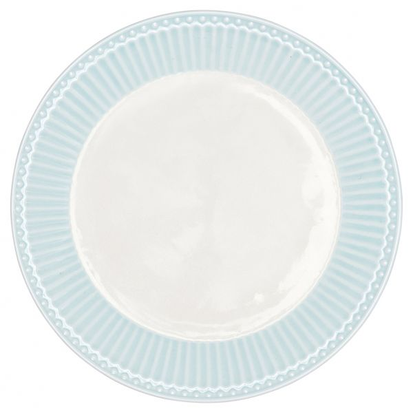 Plate Alice pale blue von GreenGate