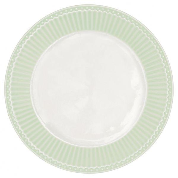 Plate Alice pale green von GreenGate