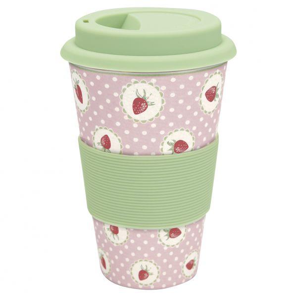 Travel Mug Strawberry von GreenGate