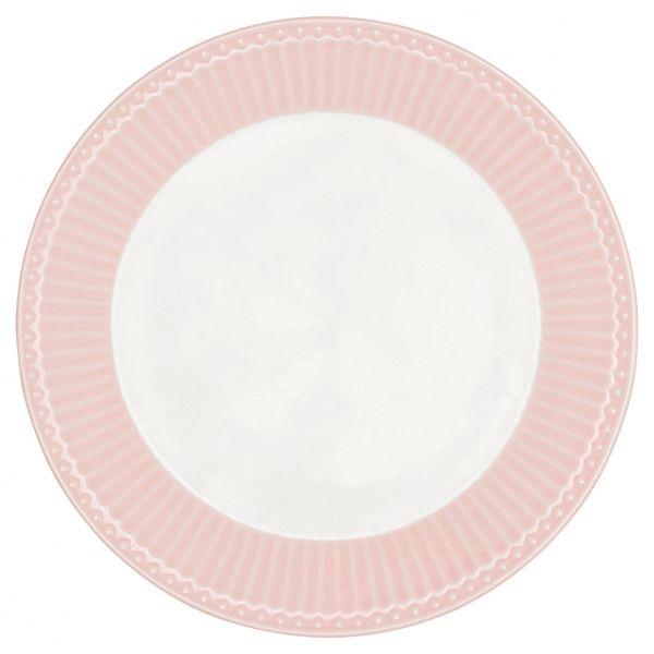 Dinner Plate Alice pale pink von GreenGate