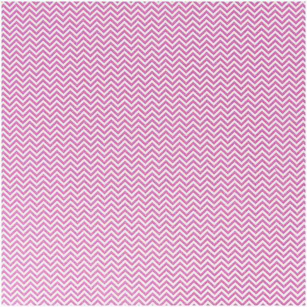 Baumwollstoff von Rico Design - wellenmuster pink-weiss