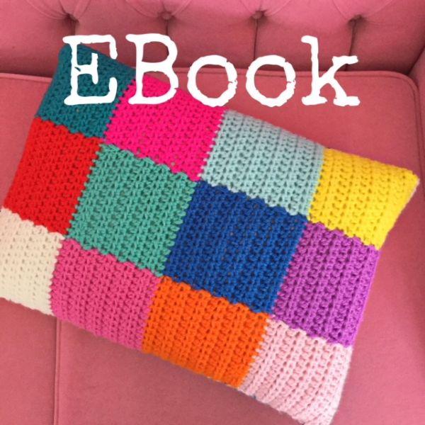 "eBook (Häkelanleitung) ""OnePatch Kissen"""