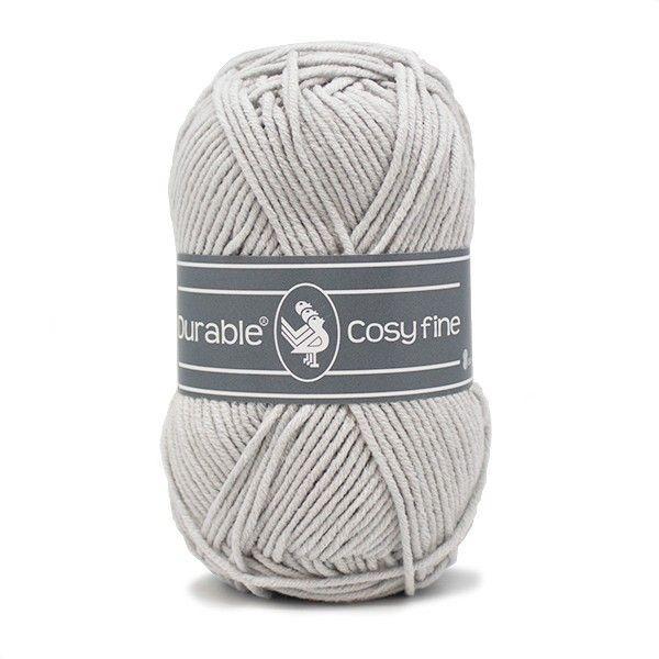 Durable Cosyfine col.2228 / Silver grey