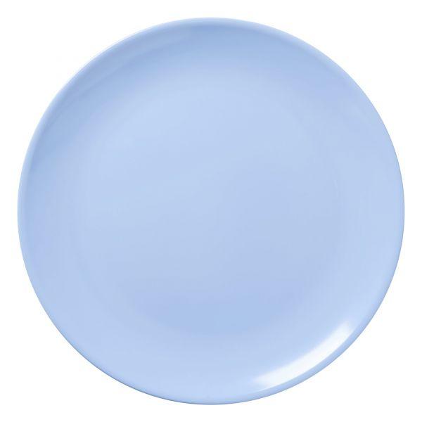 Melamin Pizzateller in soft blue von Rice